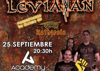 Concierto Leviatan más Higgs sala Academy